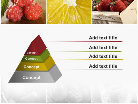 Vitaminized Berry PowerPoint Template Slide 12