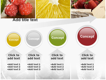 Vitaminized Berry PowerPoint Template Slide 13