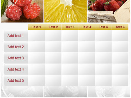 Vitaminized Berry PowerPoint Template Slide 15
