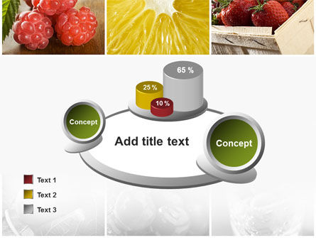 Vitaminized Berry PowerPoint Template Slide 16