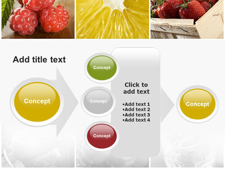 Vitaminized Berry PowerPoint Template Slide 17
