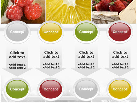 Vitaminized Berry PowerPoint Template Slide 18