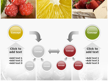 Vitaminized Berry PowerPoint Template Slide 19