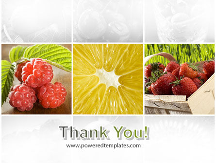 Vitaminized Berry PowerPoint Template Slide 20