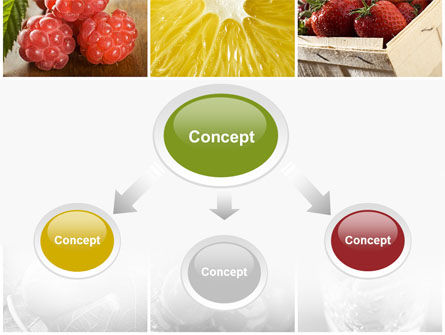 Vitaminized Berry PowerPoint Template, Slide 4, 09653, Food & Beverage — PoweredTemplate.com