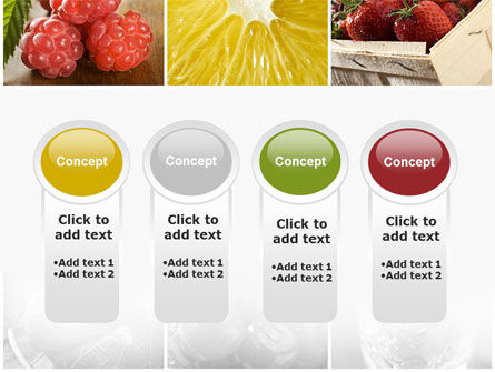 Vitaminized Berry PowerPoint Template Slide 5
