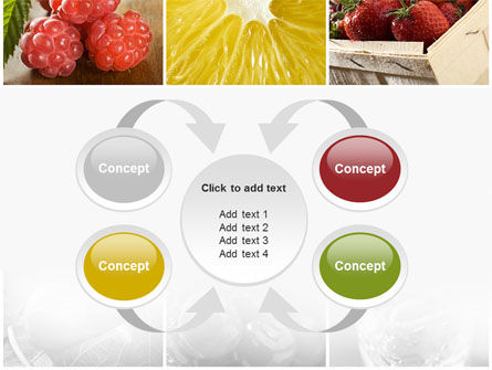 Vitaminized Berry PowerPoint Template Slide 6