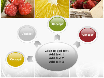 Vitaminized Berry PowerPoint Template Slide 7