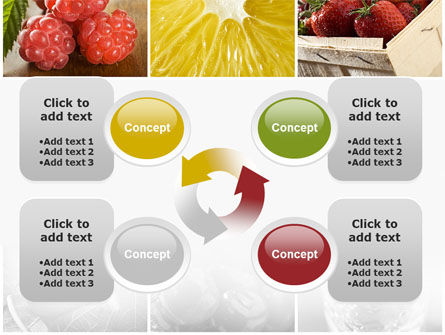 Vitaminized Berry PowerPoint Template Slide 9