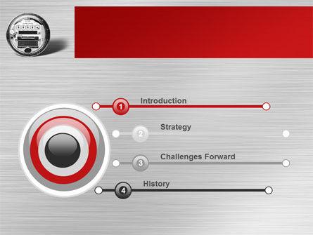 Electric Meter PowerPoint Template, Slide 3, 09654, Utilities/Industrial — PoweredTemplate.com