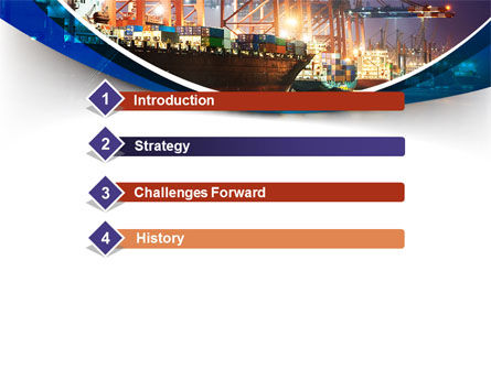 Port Of The Seas PowerPoint Template, Slide 3, 09655, Cars and Transportation — PoweredTemplate.com