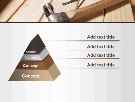 Carpenter's Tools PowerPoint Template Slide 12