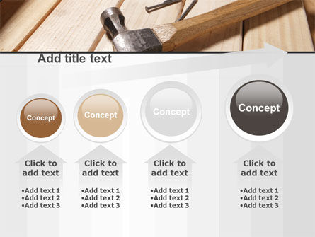 Carpenter's Tools PowerPoint Template Slide 13
