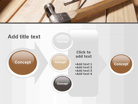 Carpenter's Tools PowerPoint Template Slide 17