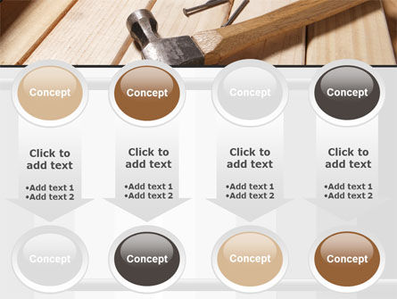 Carpenter's Tools PowerPoint Template Slide 18
