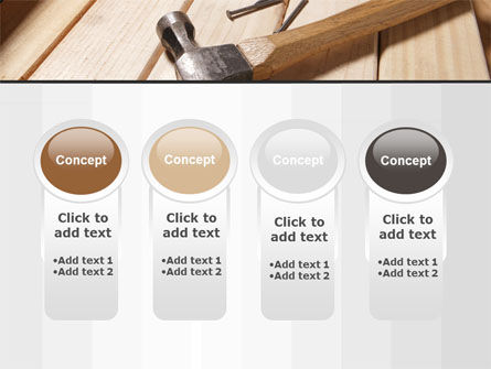 Carpenter's Tools PowerPoint Template Slide 5