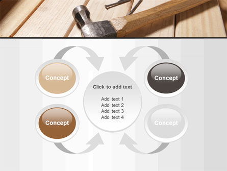 Carpenter's Tools PowerPoint Template Slide 6