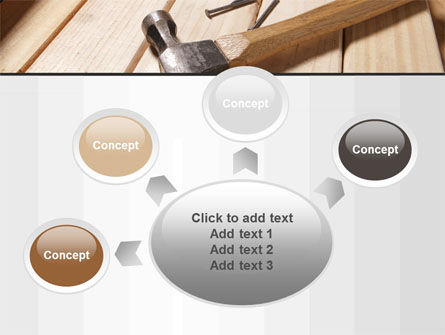 Carpenter's Tools PowerPoint Template Slide 7