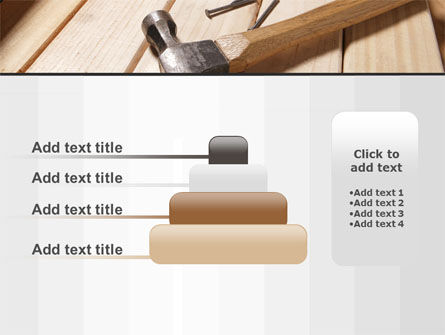 Carpenter's Tools PowerPoint Template Slide 8