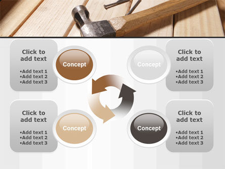 Carpenter's Tools PowerPoint Template Slide 9
