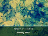Medical: Sputum Analyse PowerPoint Template #09658
