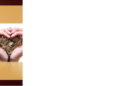 Bird's Nest PowerPoint Template, Slide 3, 09662, Nature & Environment — PoweredTemplate.com