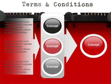 Terms And Conditions PowerPoint Template Slide 11