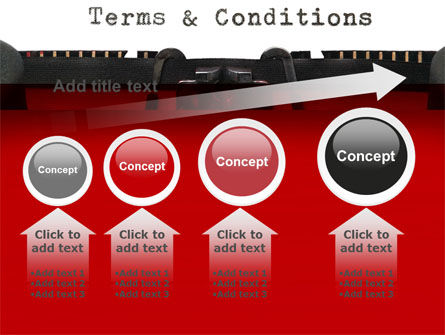 Terms And Conditions PowerPoint Template Slide 13