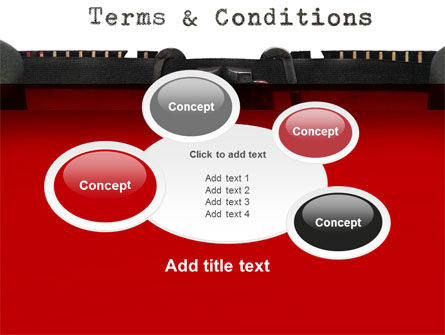 Terms And Conditions PowerPoint Template Slide 16