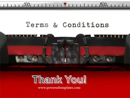 Terms And Conditions PowerPoint Template Slide 20