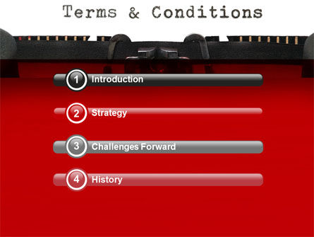 Terms And Conditions PowerPoint Template Slide 3