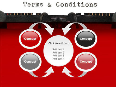 Terms And Conditions PowerPoint Template Slide 6