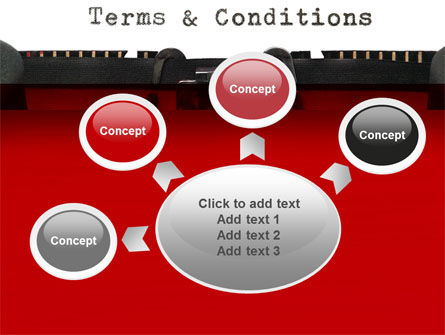 Terms And Conditions PowerPoint Template Slide 7