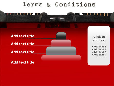 Terms And Conditions PowerPoint Template Slide 8