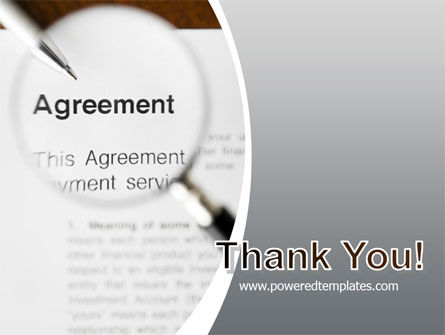 Studying And Signing Agreement PowerPoint Template Slide 20