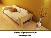 Construction: Lounge PowerPoint Template #09666
