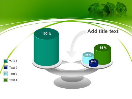 2012 Green Year PowerPoint Template Slide 10