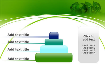 2012 Green Year PowerPoint Template Slide 8