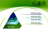 2012 Green Year PowerPoint Template#12
