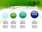 2012 Green Year PowerPoint Template#13