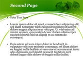 2012 Green Year PowerPoint Template#2