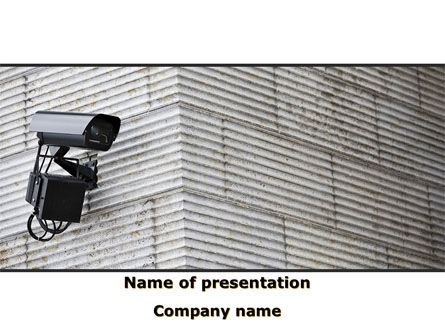 Surveillance Camera PowerPoint Template