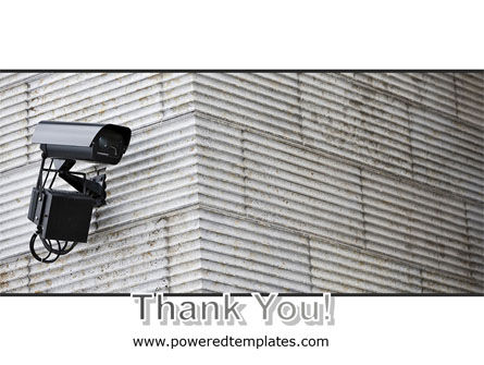 Surveillance Camera PowerPoint Template Slide 20