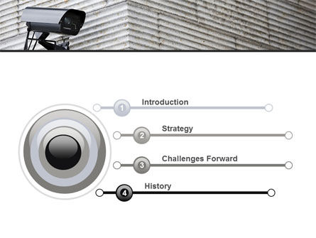 Surveillance Camera PowerPoint Template Slide 3