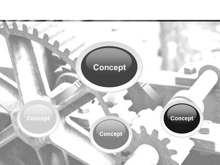 Gear Reducer PowerPoint Template, Slide 4, 09674, Careers/Industry — PoweredTemplate.com