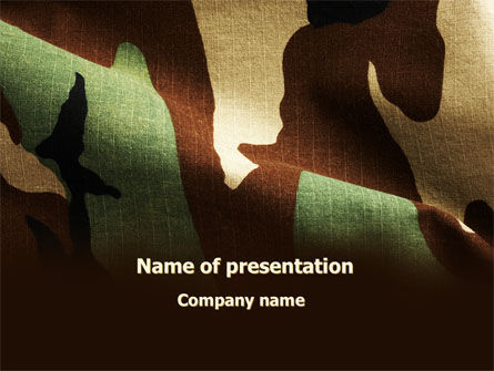 Woodland camouflage powerpoint template backgrounds 09675 woodland camouflage powerpoint template 09675 military poweredtemplate toneelgroepblik Images