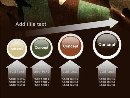 Woodland Camouflage PowerPoint Template Slide 13