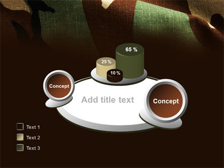 Woodland Camouflage PowerPoint Template Slide 16