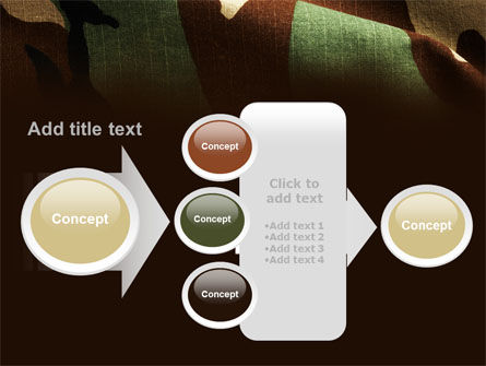 Woodland Camouflage PowerPoint Template Slide 17