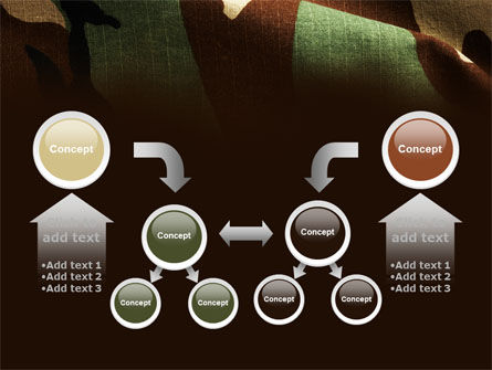 Woodland Camouflage PowerPoint Template Slide 19